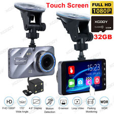"""32GB 4.0"""" In Car Camera Recorder Dual Front and Rear 1080P Dash Cam Night Vision"""