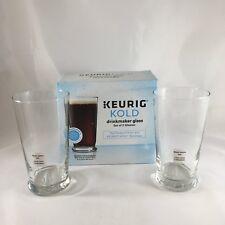 Keurig Kold Drinkmaker Glasses Set Of 2