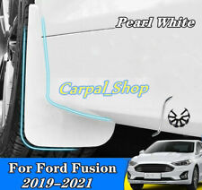 White For 2019-2021 Ford Fusion Mondeo Splash Guards Mud Flaps Mud Guards Fender
