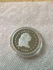 1794 Flowing Hair Dollar Round
