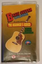 Basic Guitar Chords The Beginner's Series by John Hartin VHS Tape Acoustic