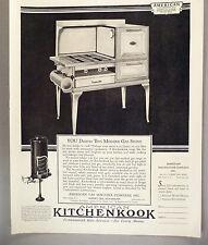 American Kitchenkook Gas Stove / Range PRINT AD - 1930 ~ oven
