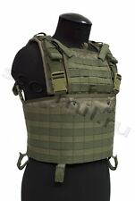 """Tactical Vest """"SIGNUM"""" MOLLE in Olive color from SSO Russia"""