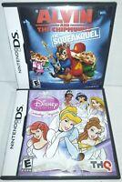 Disney Princess: Enchanting & Alvin and The Chipmunks: Squeakquel (Nintendo DS)