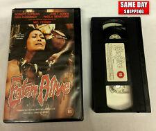 Eaten Alive VHS 80s Cannibal Cult Classic Horror big box Elephant Video Release