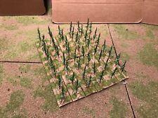 40mm,  Corn Field Set (green), 12pc  PAINTED