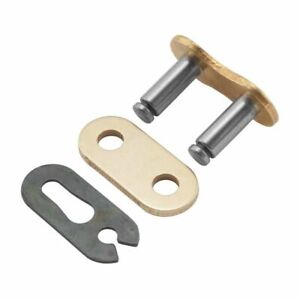 Kamenda O Ring Conectando Master Chain Link Oro Split//Clip para 520H Did 520 VX2