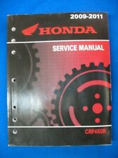 2011 2012 2013 HONDA CRF450R CRF 450 R Service Repair Shop Manual BRAND NEW Book