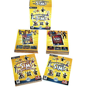 THE COMPLETE COLLECTION OF THE SIMS PC CD ROM GAME BIG BOX BOXSET 12 DISCS