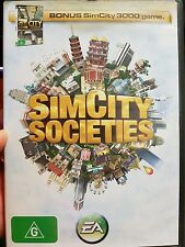 Simcity Societies Bonus Simcity game - PC GAME - FREE POST