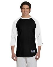 Champion Mens 3/4 Sleeve Baseball T-Shirt S-3XL Raglan Jersey Tee T137-T1397 NEW