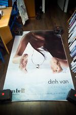 DIHN VAN JEWELLERY 4x6 ft Shelter Original Fashion Luxury Advertising Poster