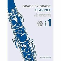 Grade By Grade Clarinet, Like New Used, Free P&P in the UK