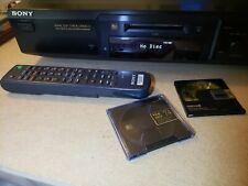 Sony Mds-Je440 MiniDisc Deck Atrac Dsp Type-R Mdlp w Remote Working