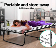 Folding Bed Portable Single Mattress for Camping Outdoor Indoor Guest Bed