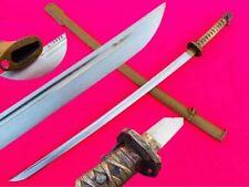 Vintage Military Japanese Army Sword Samurai Katana Saber Brass Handle W/ Number