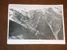Veduta della strada per il Giogo dello Stelvio nel 1920