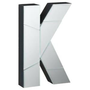 Pretty Mirrored Letter - K For Home Décor.