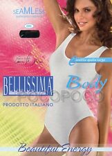 BODY SPALLA LARGA DONNA MICROFIBRA BELLISSIMA ART. 090