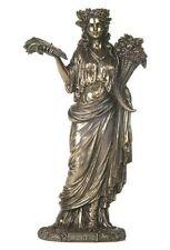 12.5 Inch Demeter Statue Roman Greek Goddess Mythology Pagan Figurine Sculpture