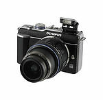 Olympus PEN E-PL1 fotocamera digitale 12.3MP - Nero (Kit con Obiettivo 14-42mm)