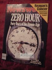 NEWSWEEK July 29 1985 7/29/85 The Atomic Age Ronald Reagan Art Auctions