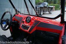 Polaris RANGER RZR XP 900 / RZR 800 Carbon Fiber Dash Overlay Kit xp900 decal