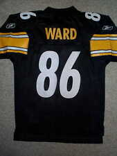 REEBOK Pittsburgh Steelers HINES WARD nfl Jersey YOUTH KIDS BOYS (s-small)
