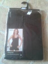 NEXT Jersey Sleepset/Nightwear : Black : Size 12 : BNWT