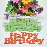 Cutter Mold Kunststoff alles Gute zum Geburtstag Fondantform Geburtstagstor Y2U3