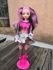 """RARE MONSTER HIGH DOLL DRACULAURA CLONE MEXICAN 11"""" & OUTFIT WITH BARBIE BODY"""