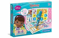 Clementoni Doc McStuffins Quizzy Game 24 Educational Activities Gift Set