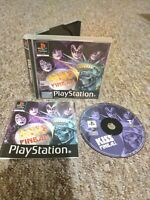 KISS Pinball - Sony PS1 Game - RARE & COMPLETE - Private Seller - FREE P&P!
