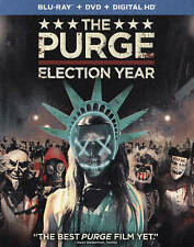 The Purge: Election Year (Blu-ray Disc, 2016, 2-Disc Set, Includes Digital Copy)