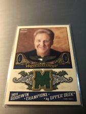 2011 UD Goodwin Champions LARRY BIRD Celtics Memorabilia Game Jersey #M-LB