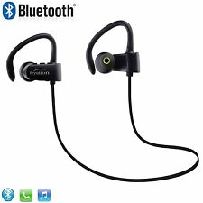 New Stereo HiFi Bluetooth V4.1 Headphones Earbuds fit for All smart cell phones