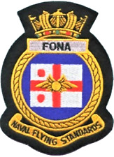 Flag Officer Naval Aviation FONA Fleet Air Arm FAA Crest MOD Embroidered Patch