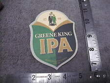1799 Greene King IPA Pale Ale , Brewed in Bury St Edmunds Suffolk ,Beer Coaster