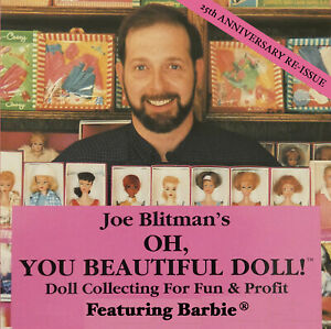 DVD ON BARBIE COLLECTING - JOE BLITMAN'S OH YOU BEAUTIFUL DOLL - ONE HOUR LONG