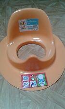 Réducteur de toilette enfant ,orange