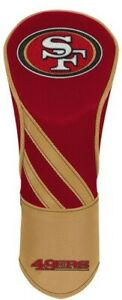 SAN FRANCISCO 49ERS EMBROIDERED DRIVER HEADCOVER INDIVIDUAL NEW WINCRAFT 👀⛳