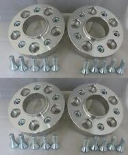 VW 5x100 57.1 to BMW 5x120 72.5 15mm Hubcentric PCD Adaptors - Steel Inserts
