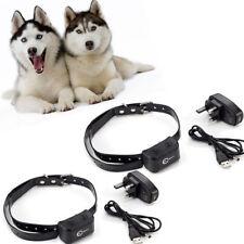 Large Dog Rechargeable No Bark Collar Anti Bark Dog Shock Collar Waterproof