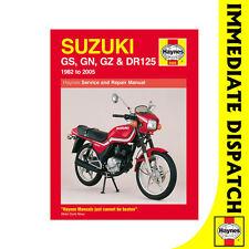 [0888] Suzuki DR125 GN125 GS125 GZ125 Singles 1982-2005 Haynes Workshop Manual