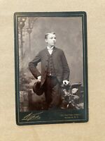 Vintage Cabinet Photo Card, Kopke Photography Brooklyn NY Photograph Card CC9
