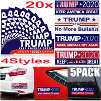 20X Trump 2020 Bumper Sticker Keep Make America Great Make Liberals Cry Again Bu