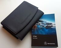 Genuine MERCEDES S CLASS W222 (2013-2017) MANUAL OWNERS GUIDE HANDBOOK & WALLET