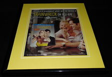 Trainwreck 2015 Framed 11x14 ORIGINAL Vintage Advertisement Amy Schumer