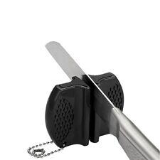 Mini Ceramic Rod Tungsten Steel Camp Pocket Kitchen Knife Sharpener Tool SV