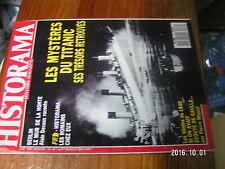 2µ?. Revue Historama n°72 Tresor du Titanic Mur de Berlin  Blindés en 1940